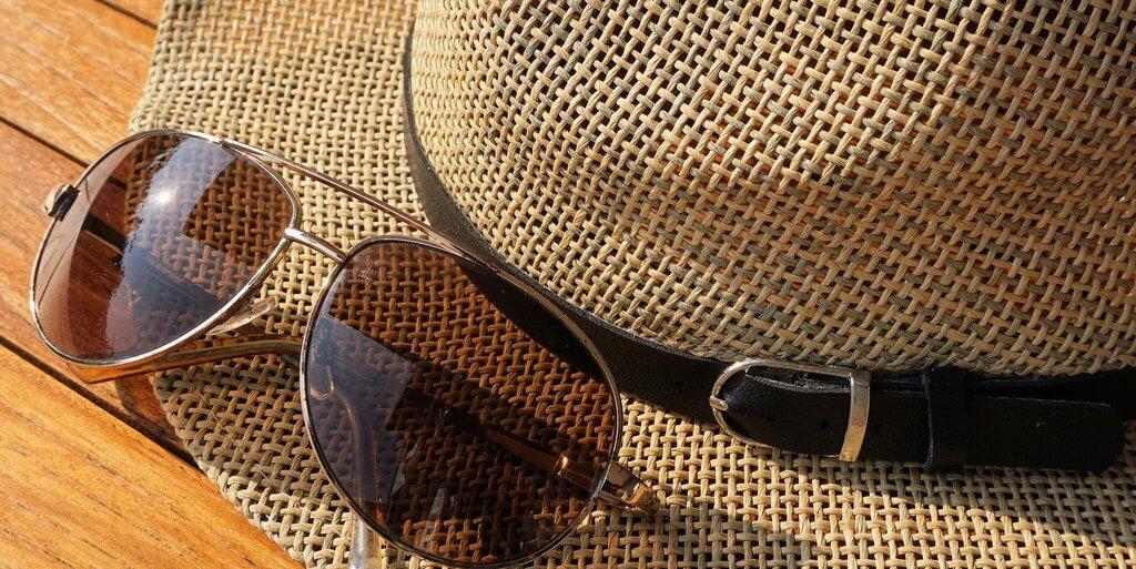 Kánikula - napvédelem kalap szemüveg
