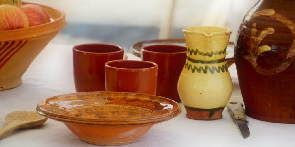 Családi örökség - régi tányérok